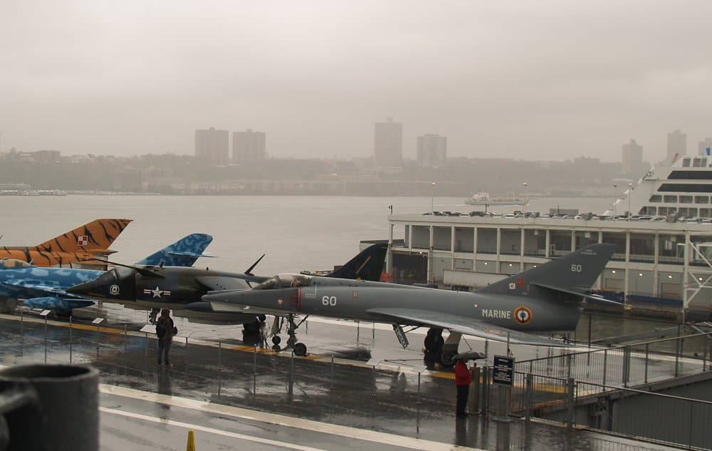Touch and Go: Intrepid Sea, Air & Space Museum-New York City